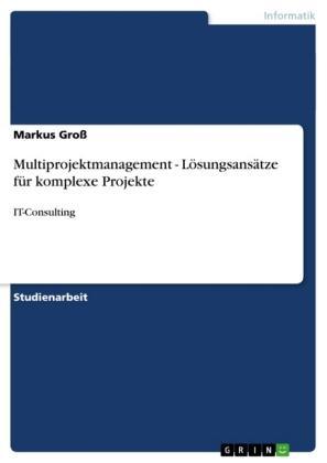 Multiprojektmanagement - Lösungsansätze für komplexe Projekte
